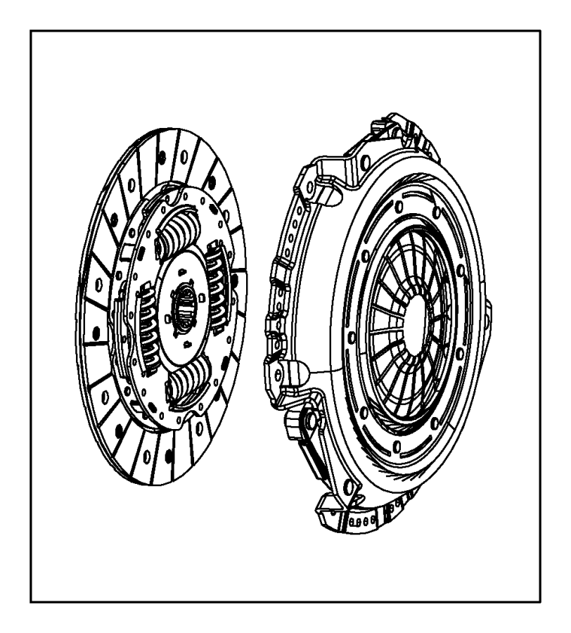 Jeep Liberty Clutch kit. Used for: pressure plate and disc