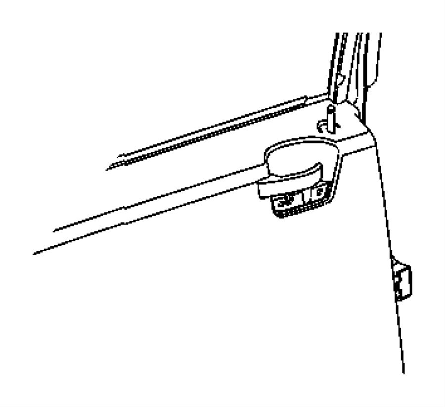 2011 Jeep Patriot Panel. Rear door trim. Right. Trim: [all