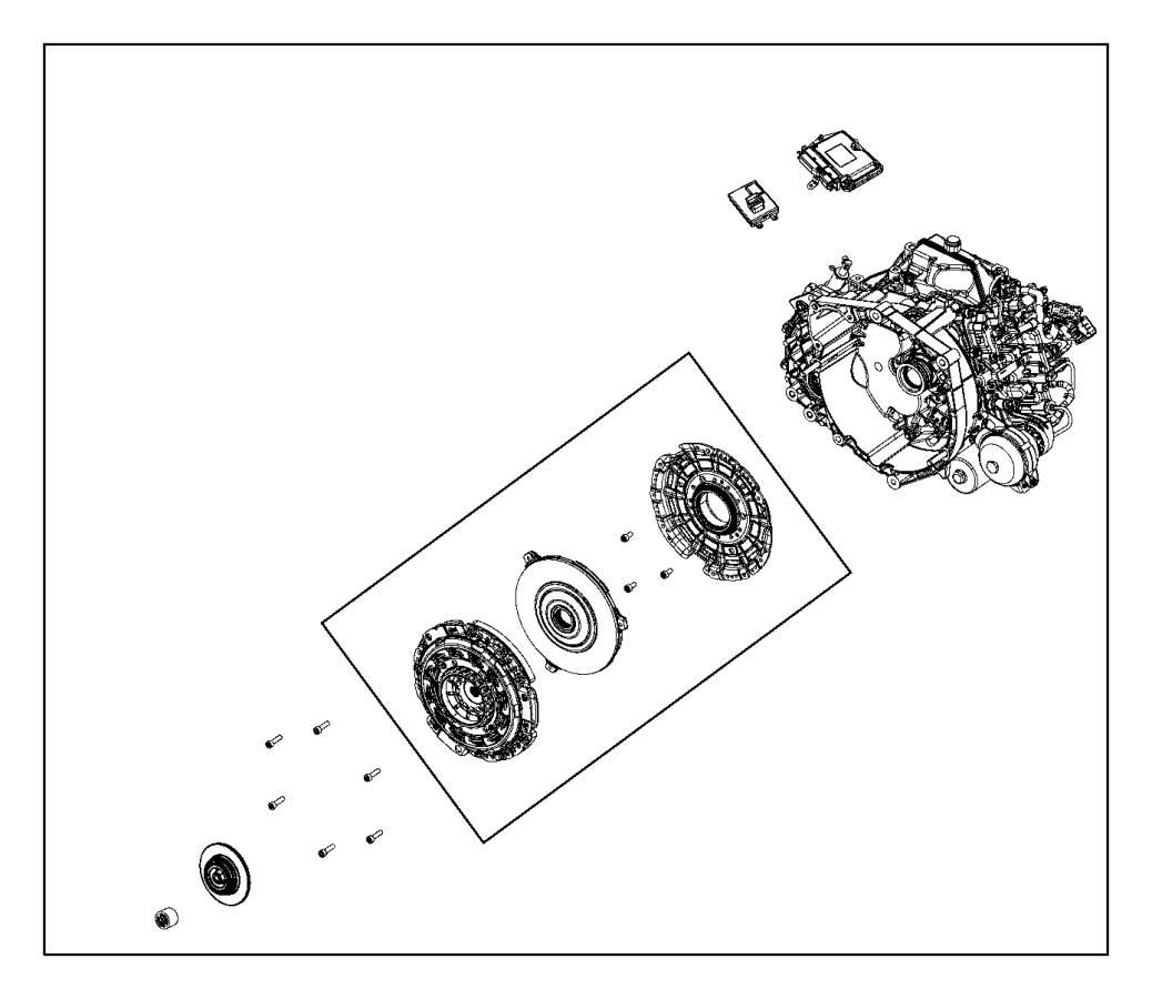 2012 Dodge Dart Bearing. Clutch release. Export. [power