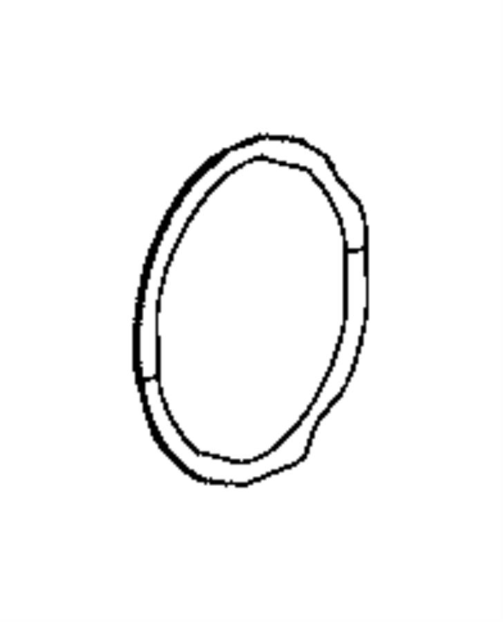 2014 Ram 3500 O ring. Coolant tube, engine block heater