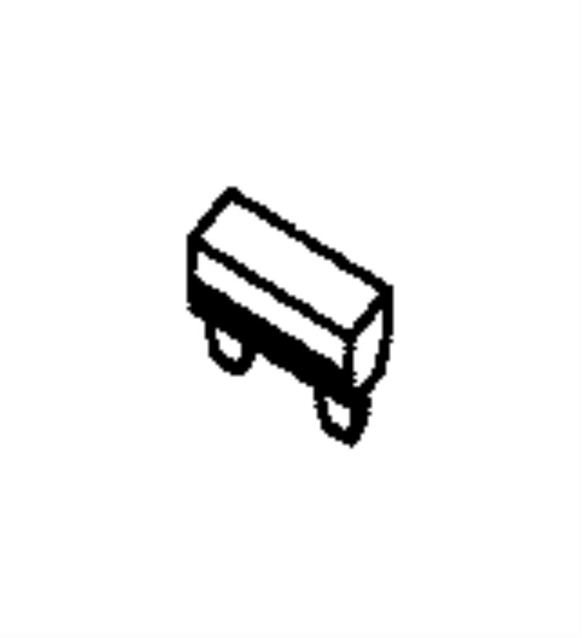 Jeep Grand Cherokee Fuse. Micro. 30 amp. Export