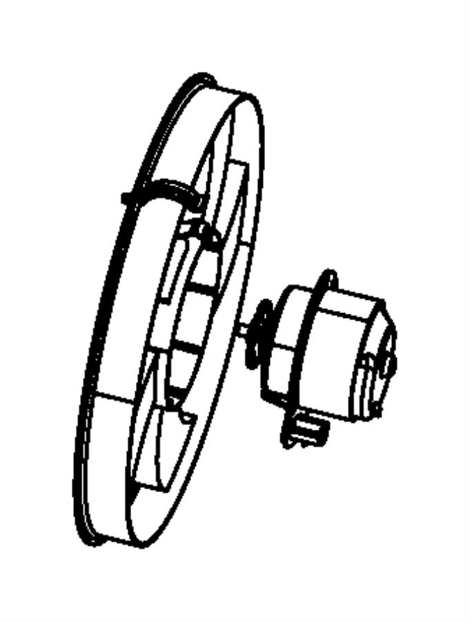 2012 Jeep Compass Fan. Cooling. Hao, motors, fans