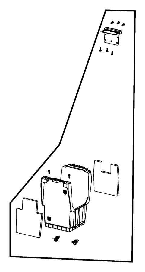 2009 Jeep Patriot Bin. Floor console. Trim: [all trim