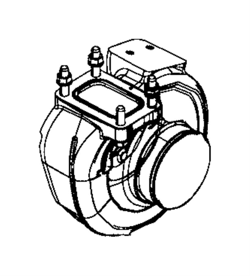 2013 Dodge Ram 2500 Turbocharger. Emissions, state