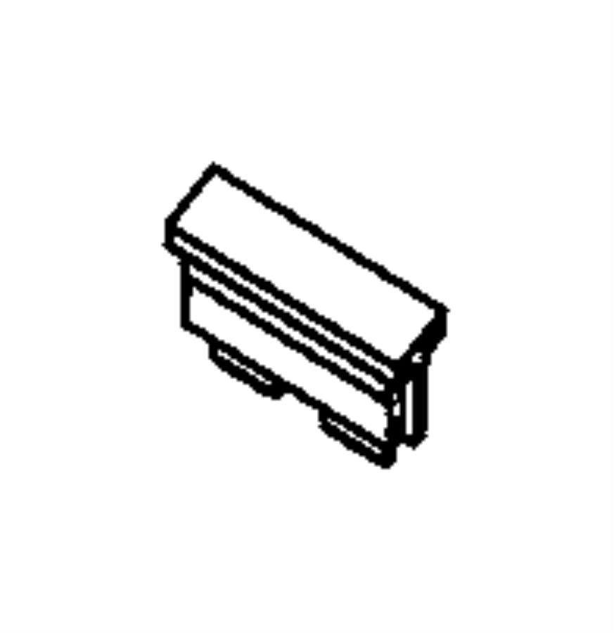 2015 Dodge Durango Fuse. Micro. 15 amp. Export, us, canada