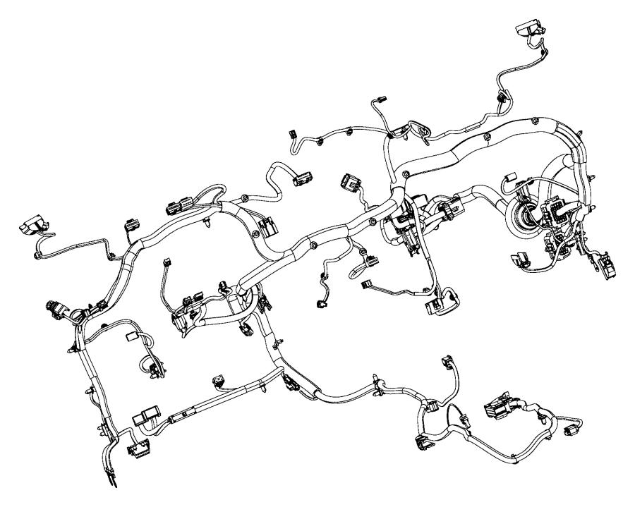 Dodge Ram Wiring Instrument Panel