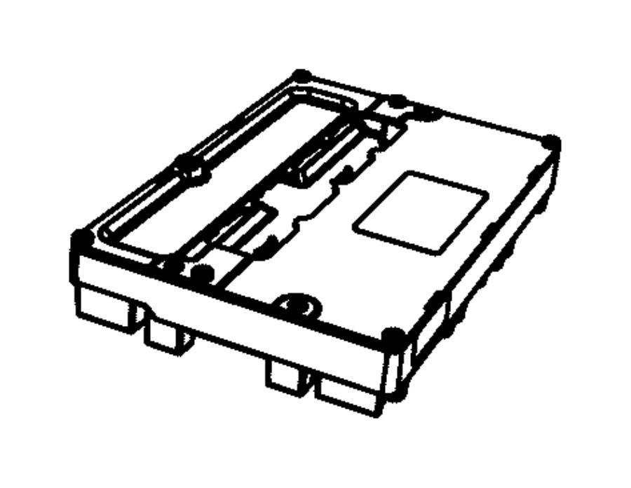 2014 Ram 1500 Module. Transfer case control. Shift, fly