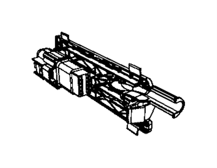 Ram 3500 Connector kit, wiring. Tailgate, tailgate wiring