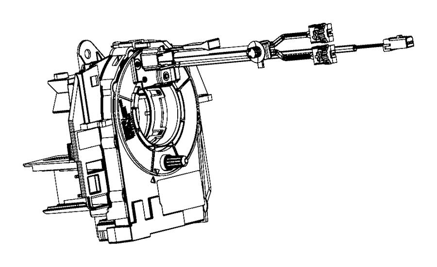 2016 Ram 3500 Clockspring. Steering column control module
