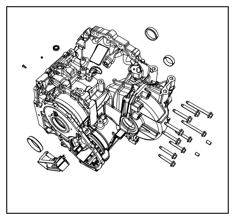 2015 Dodge Journey Plug. Transmission case. Cab & chassis