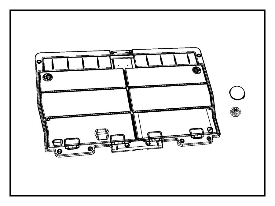 Chrysler Town & Country Frame. Load floor. Trim: [all trim
