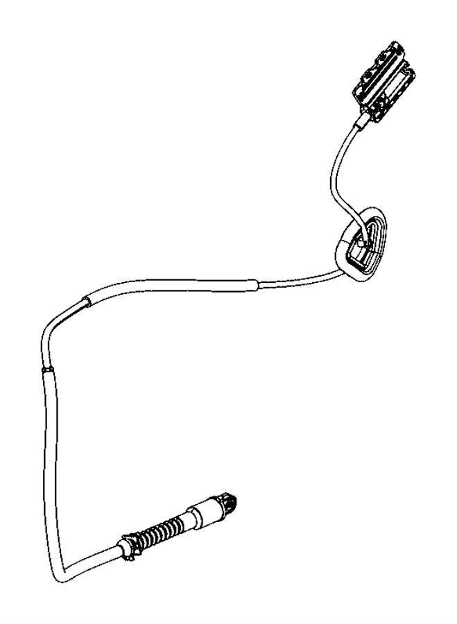2016 Dodge Durango Cable. Automatic transmission. Manual