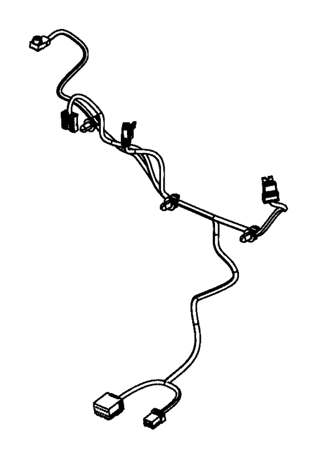 Chrysler 300 Wiring. Seat back. Export, left, us, us