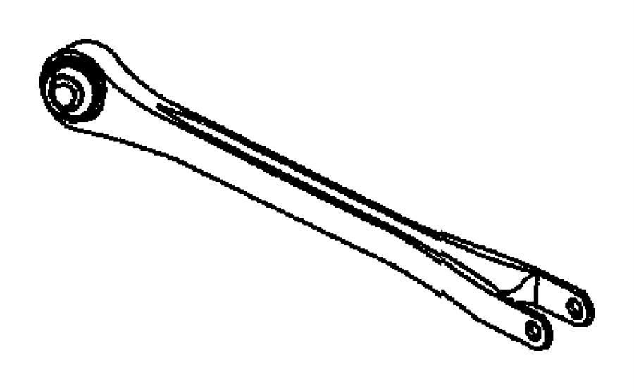 2010 Dodge Charger Link assembly. Compression. Suspension