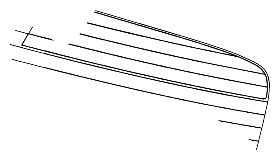 2010 Dodge Challenger Module. Radio antenna. [integrated