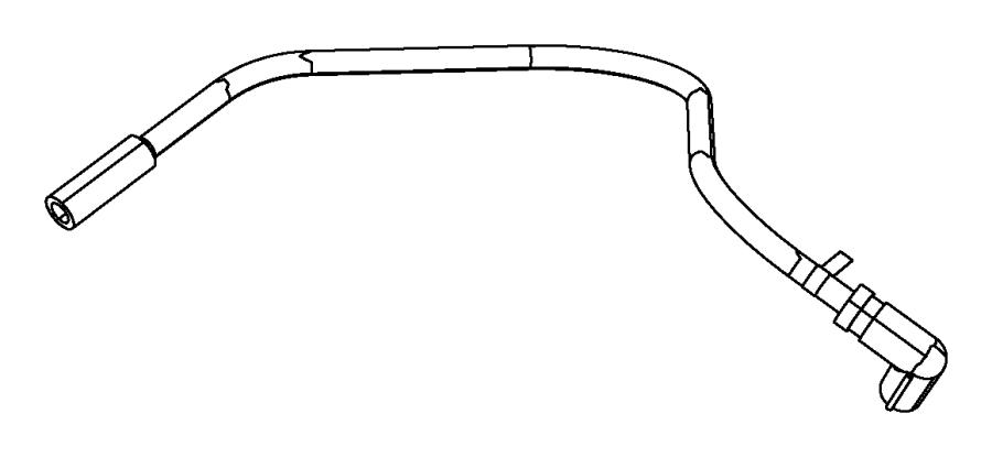2011 Dodge Challenger Tube. Canister purge. Emission