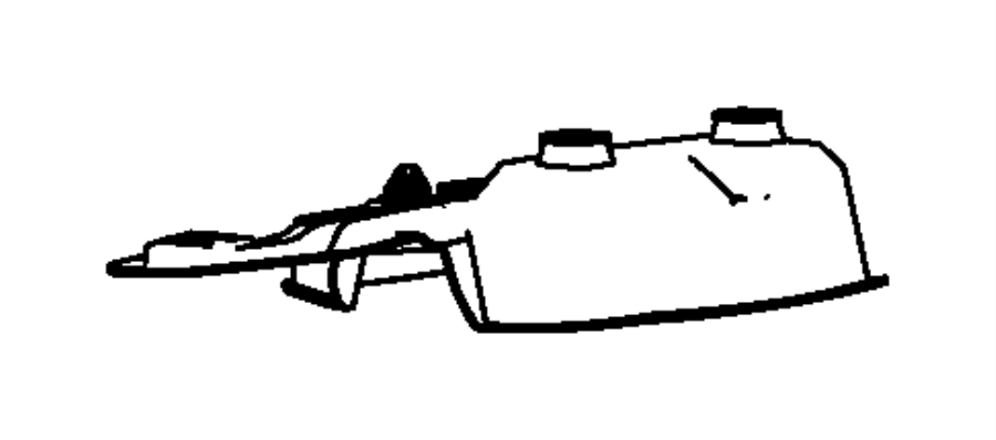 2012 Dodge Challenger Bracket. Overhead console. Export