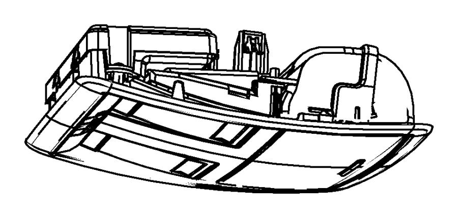 2014 Dodge Challenger Console. Overhead. Export. Trim
