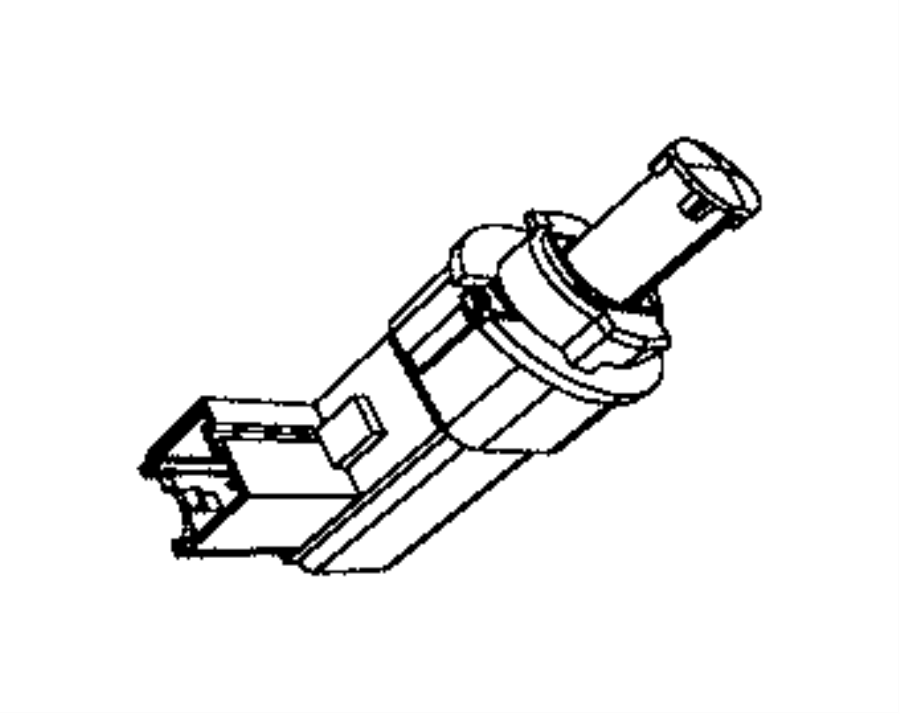 2015 Jeep Grand Cherokee Sensor. Brake pedal. Brake light