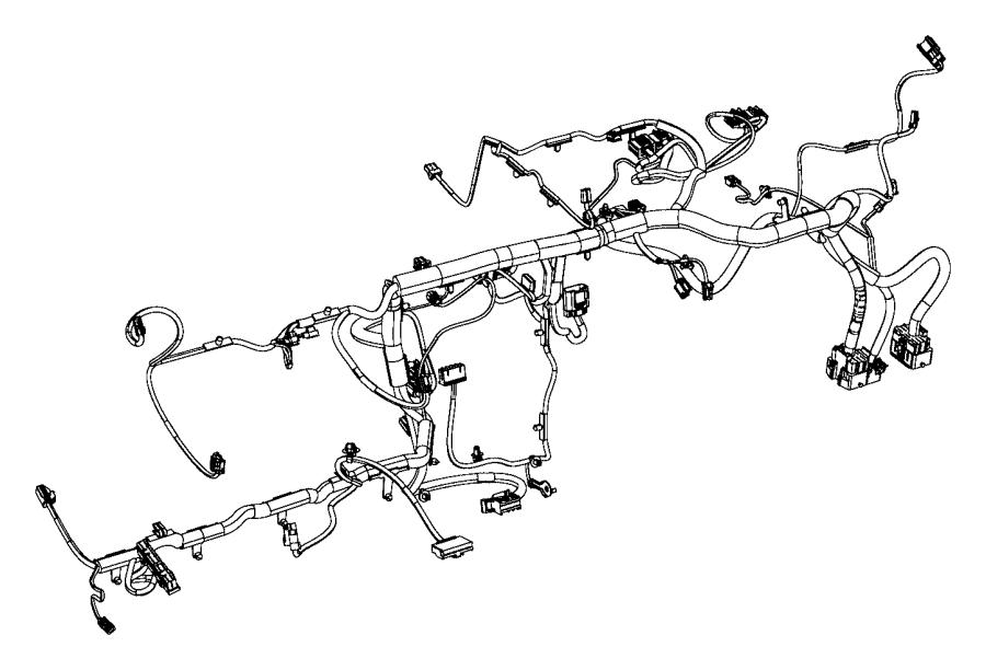 2012 Dodge Avenger Wiring. Instrument panel. Stability
