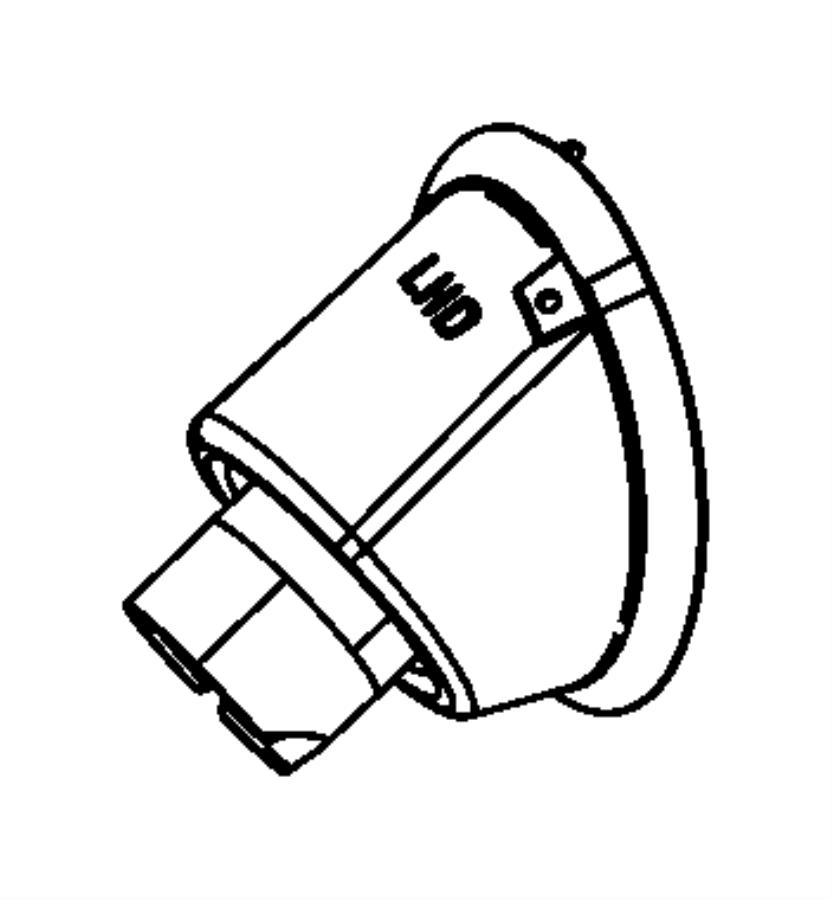2012 Chrysler 200 Boot package, seal. Dash panel upper