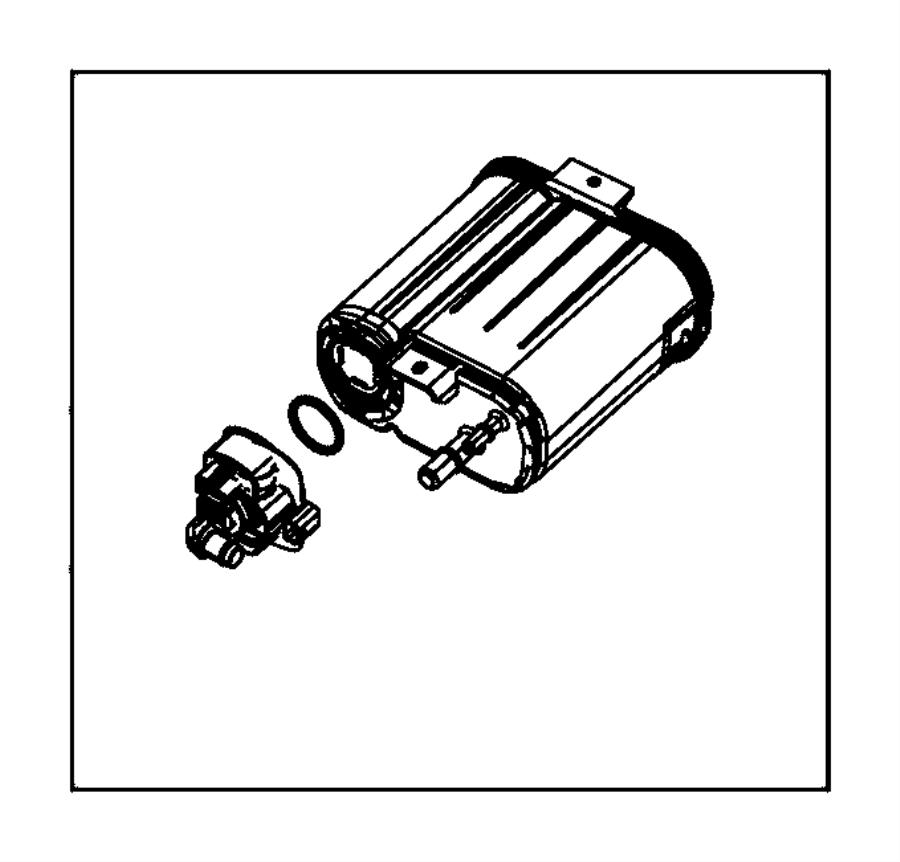 Dodge Avenger Canister. Vapor. Leak, emissions, detection