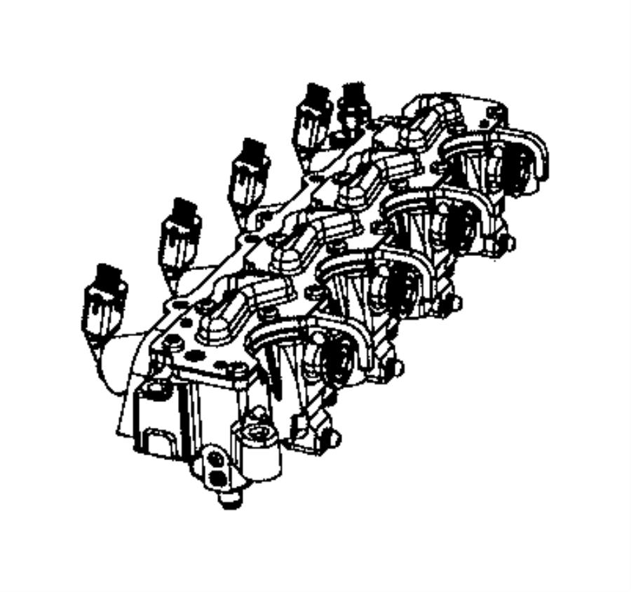 2013 Dodge Dart Actuator. Multiair. Engine, camshaft