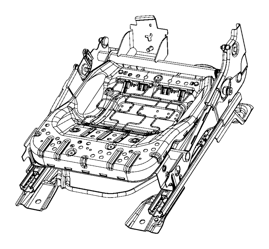 Chrysler Sebring Bar, towel bar. Rear seat with isofix