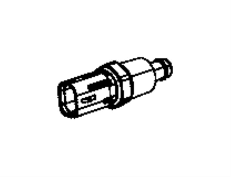 2006 Jeep Liberty Sensor. Coolant temperature, temperature