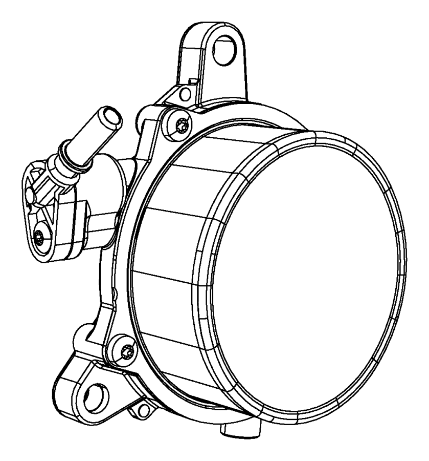 2015 Chrysler 200 Pump. Vacuum. Auto, spd, booster
