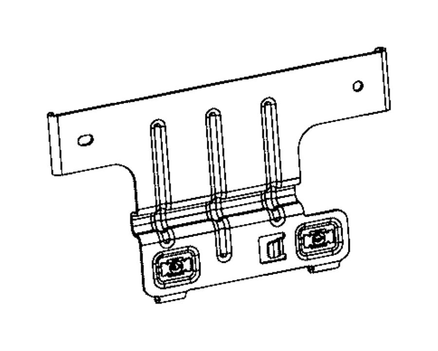 Chrysler 200 Bracket. Voltage stabilizer. Module. [x81
