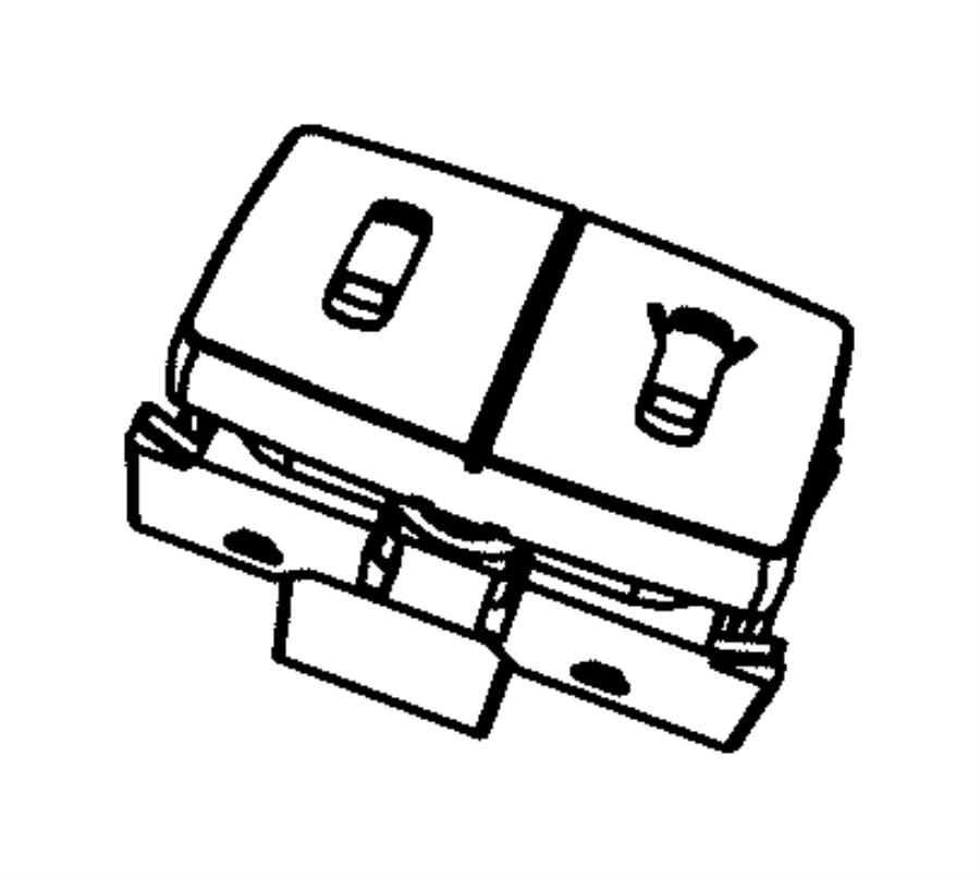 2014 Dodge Grand Caravan Switch. Power vent, quarter vent