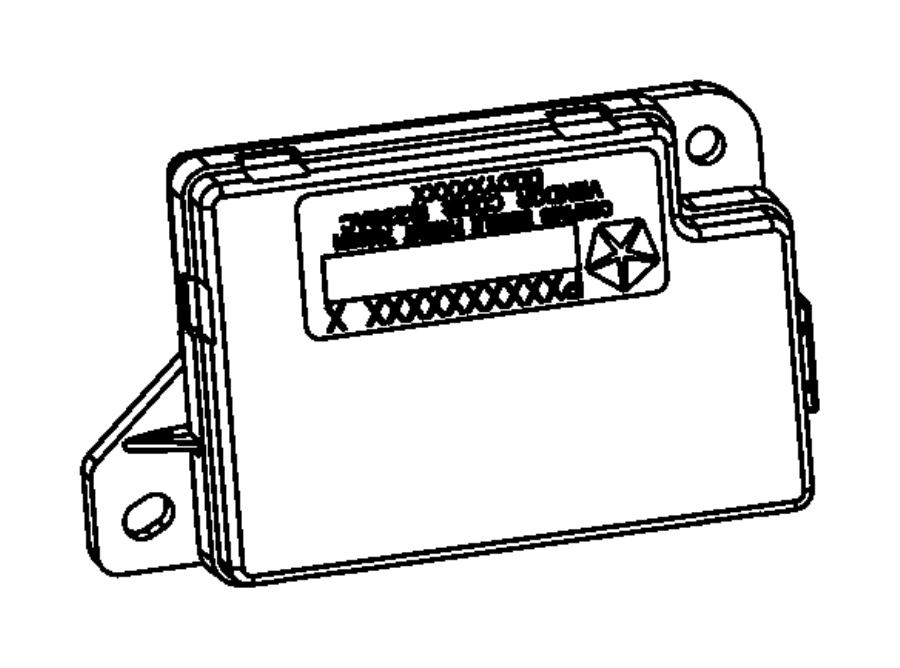 Jeep Renegade Module. Compass. Uconnect, gauge, dvd
