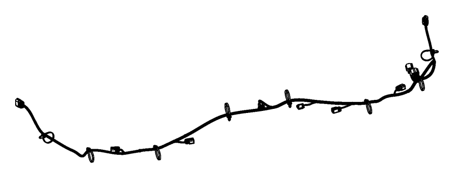 2015 Dodge Dart Wiring. Rear fascia. Assist, spot, module