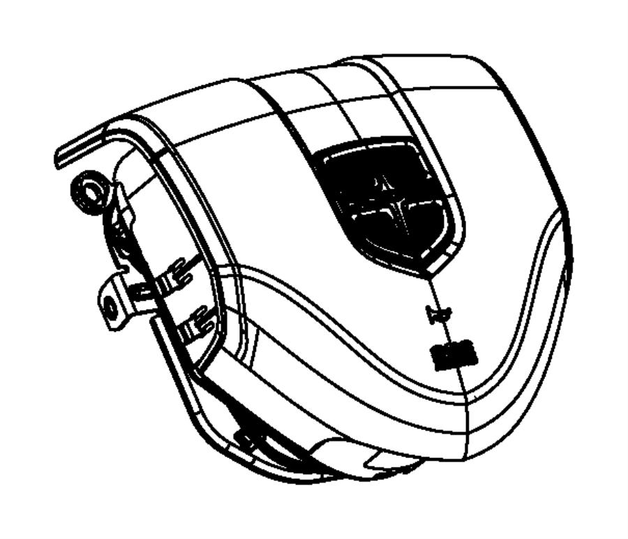 2014 Dodge Dart Airbag. Driver. [x9], [xa], [xc], [xl