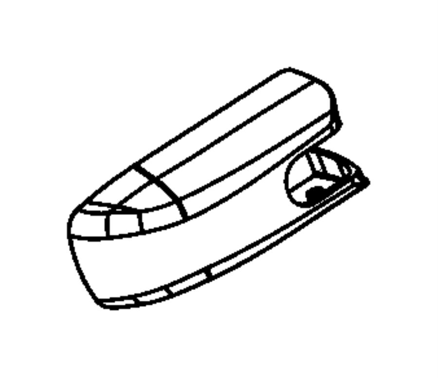 Chrysler PACIFICA L HYBRID Cap. Rear wiper arm. Washer