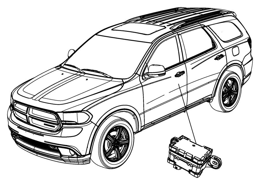 2015 Jeep Grand Cherokee Module, sensor. Dynamics