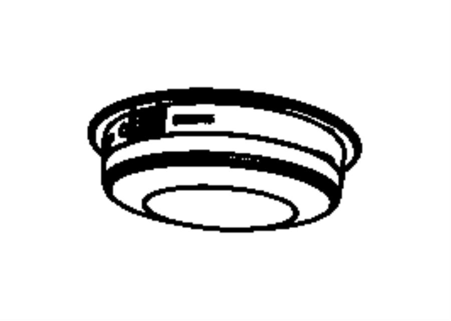 Dodge Durango Lamp. Dome. Trim: [no description available