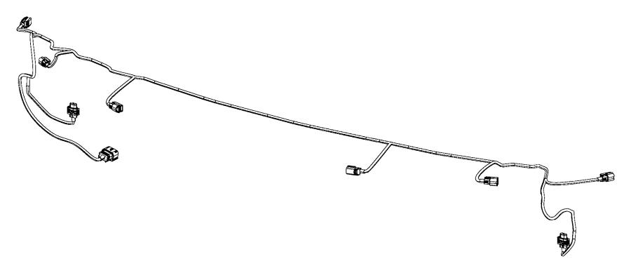Chrysler 300 Wiring. Front fascia. Washeractive