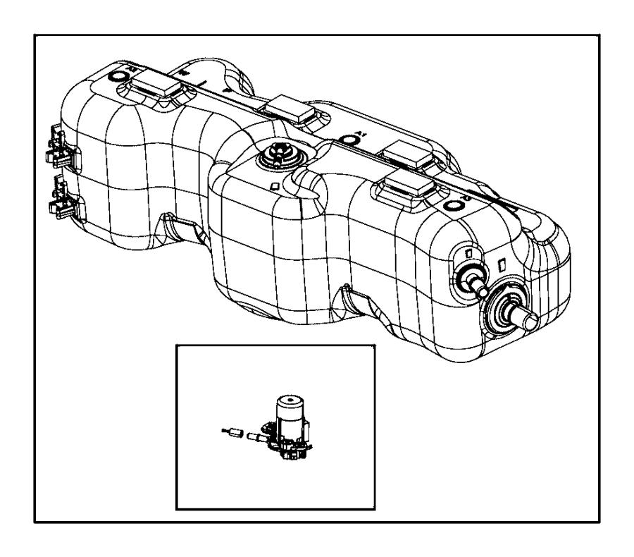 Ram ProMaster Tank. Diesel exhaust fluid. System, mopar