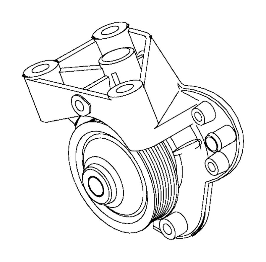 2016 Ram 2500 Pump. Water. Heater, engine, amp