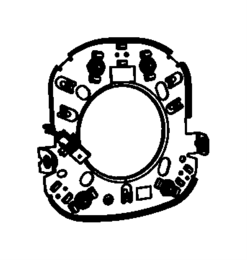 2012 Jeep Patriot Switch. Horn. Trim: [all trim codes