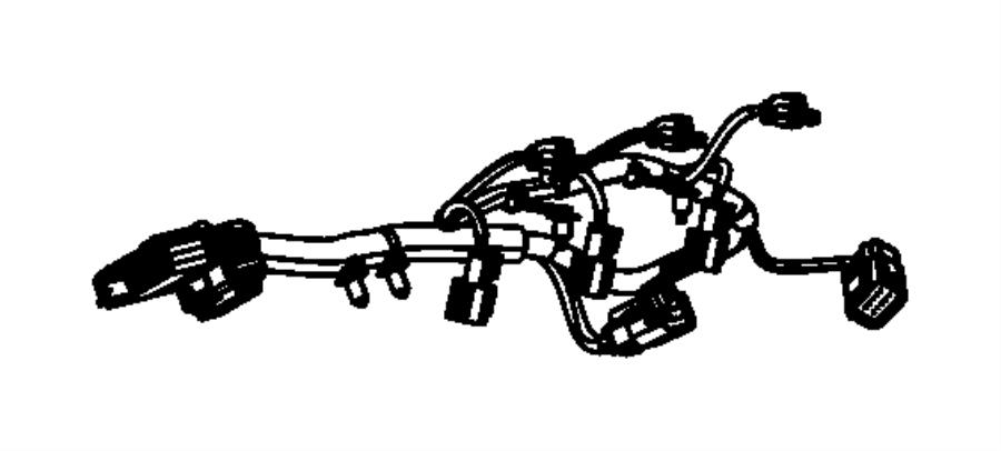 2013 Jeep Wrangler Wiring. Injector. Powertrain, mopar
