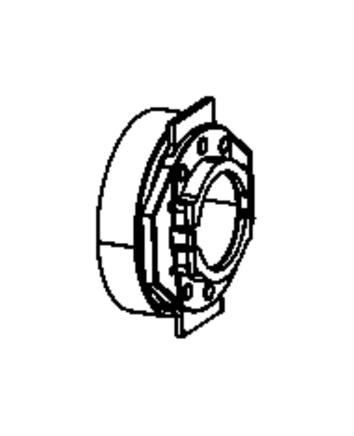 Fiat 500 Bearing. Clutch release. Mexico. Ratio, rear