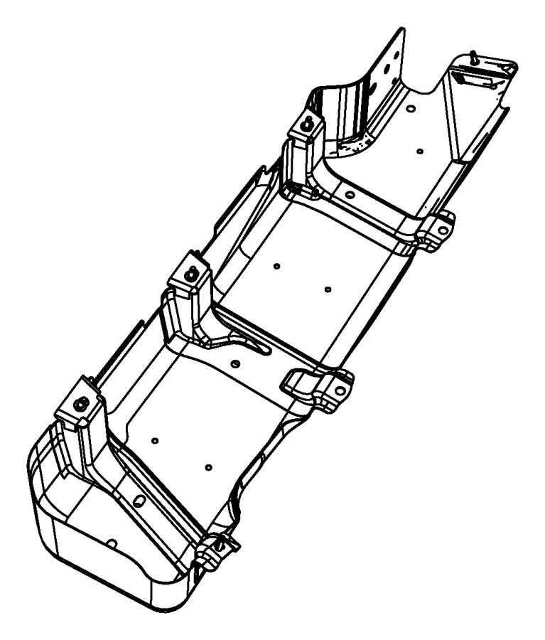 2009 Jeep Wrangler Skid plate. Fuel tank. Gallon, complete