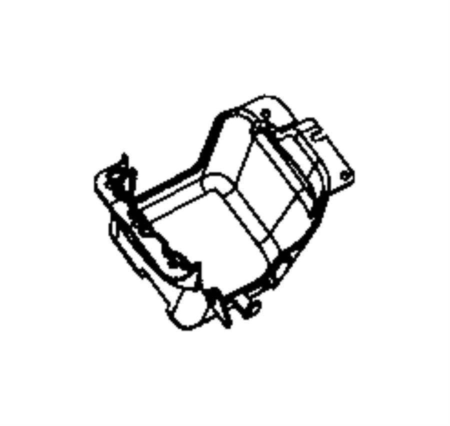 2016 Dodge Durango Bracket. Gearshift. [full length floor