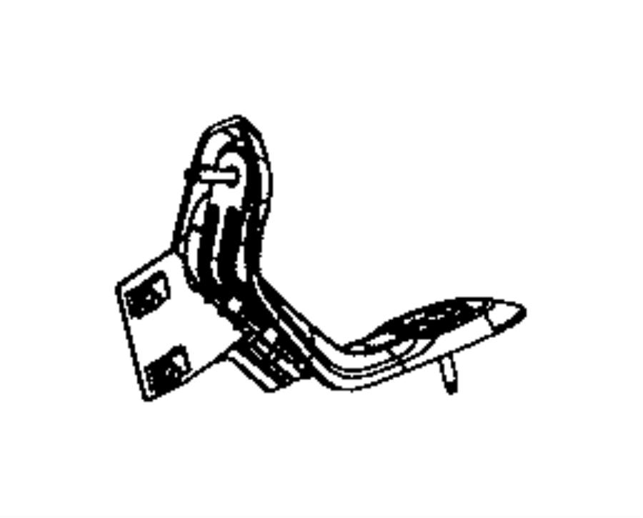 Dodge Viper Handle. Grab. [carbon fiber black interior