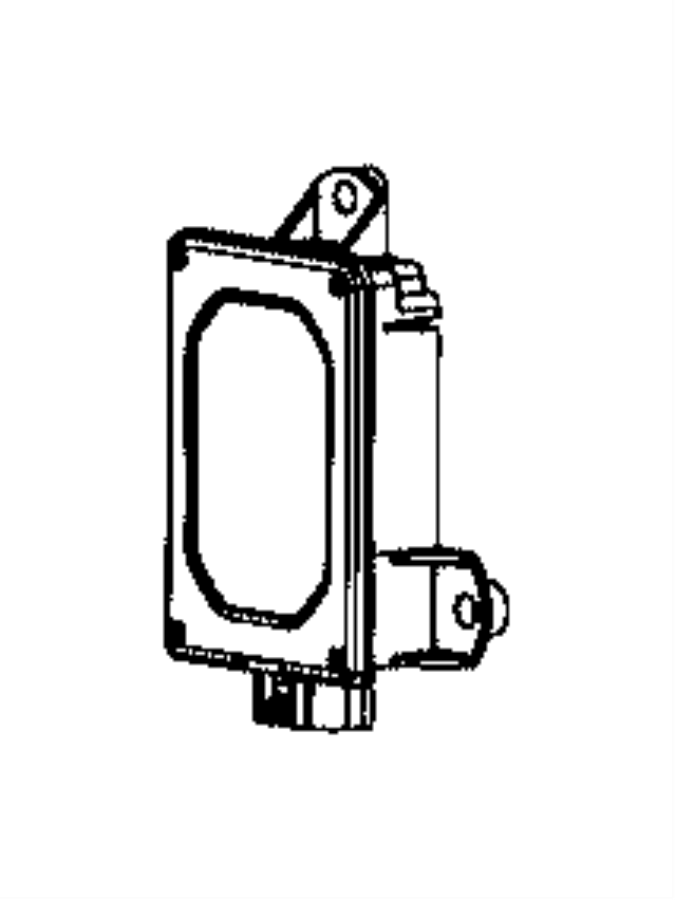 Dodge Ram 1500 Module. Fuel pump control. [26 gallon fuel
