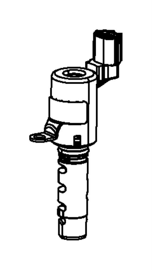 2011 Chrysler Sebring Solenoid. Variable valve timing
