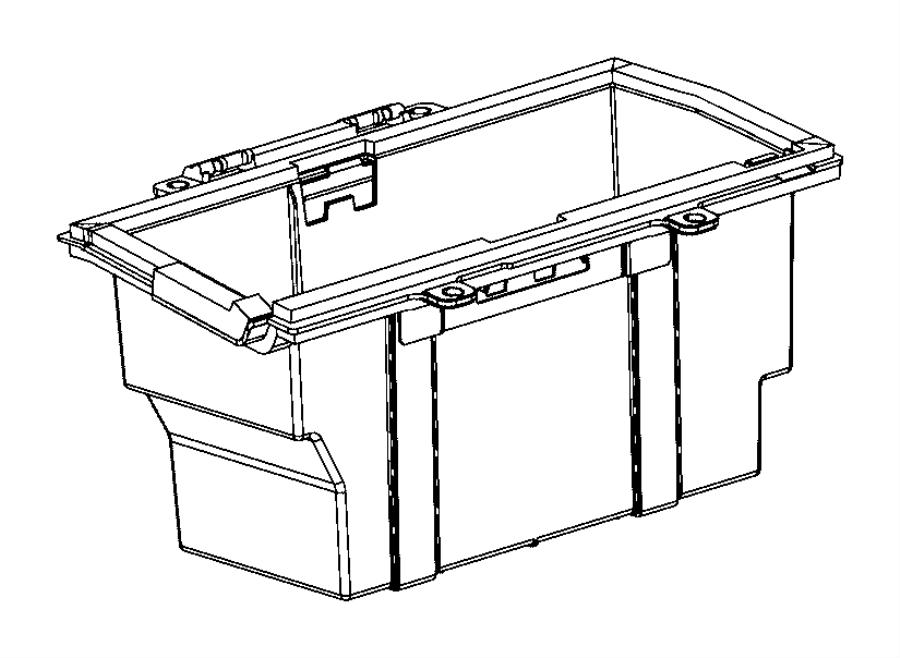 2015 Ram ProMaster Tray. Battery. Support, mopar, hdb